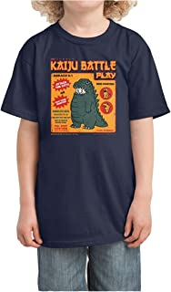 BEIIIOU Kid's Kaiju Battle Play Funny Design Tshirt