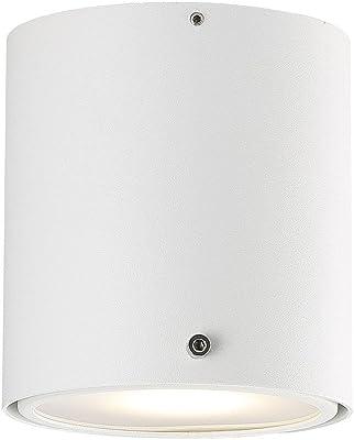 Nordlux 78511001Downlight, métal, GU10, blanc 10cm
