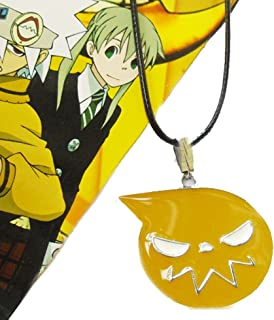 Touirch Anime Jewelry Soul.Eater Metal Gift Necklace Toy
