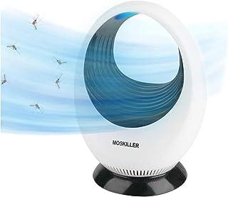 KATELUO anti-mygglampa, myggdödarlampa, effektiv och tyst, USB-uppladdning, lämplig för sovrum, vardagsrum, kontor, interiör
