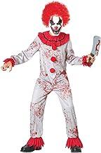 Seasons Scary Circus Clown Pretend Costume