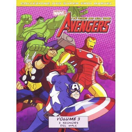 The Avengers - I più potenti eroi della terra! - I signori del maleVolume03