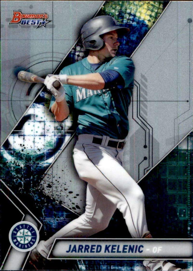 Ranking TOP1 2019 Bowman's Cheap super special price Best #TP-14 Jarred Kelenic Mariners Seattle Baseba