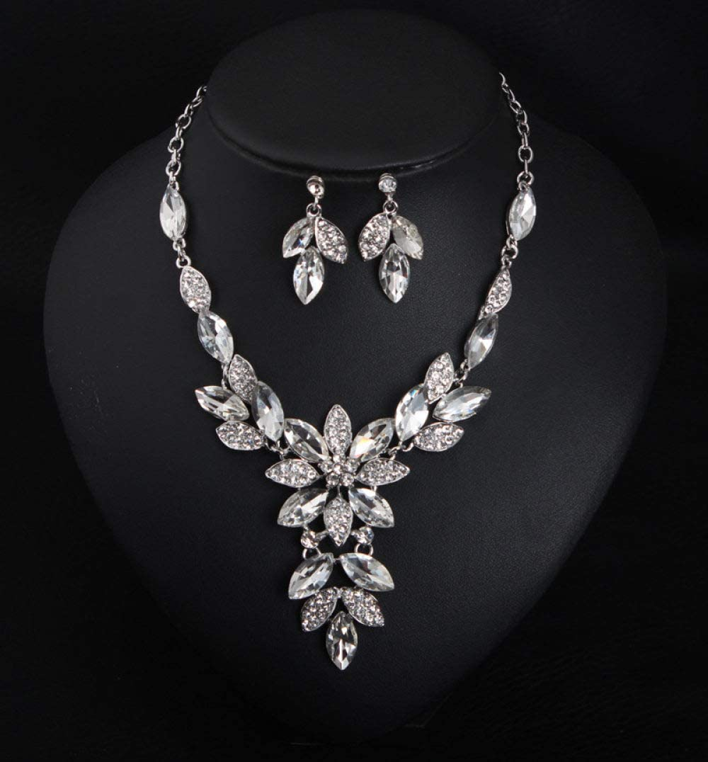 Alloy Earrings Necklace Set Super-cheap for Bridal Elegant Ranking TOP8 Jew Fashion Women