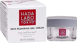 Hada Labo Tokyo Skin Plumping ژل کرم 1.76 FL OZ - با سوپر هالووریک اسید و کلاژن - رطوبت 24 ساعته و قابل مشاهده Line Plumping عطر و paraben رایگان غیر comedogenic (بسته بندی ممکن است متفاوت باشد)