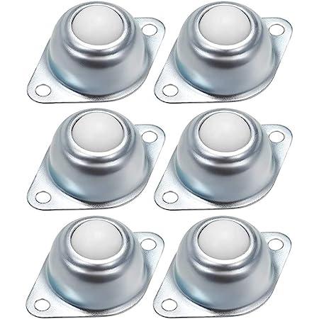 Zasiene Roulettes /à Billes de Transfert 8 pi/èces Roulettes de Meubles Universel Boules en Nylon Roulettes /à Bille pour Dispositif de Transfert Ou de transport
