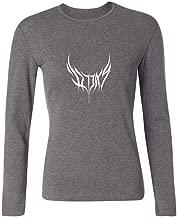 YLINTS Women's Loverboy Art Logo Long Sleeve T-shirt