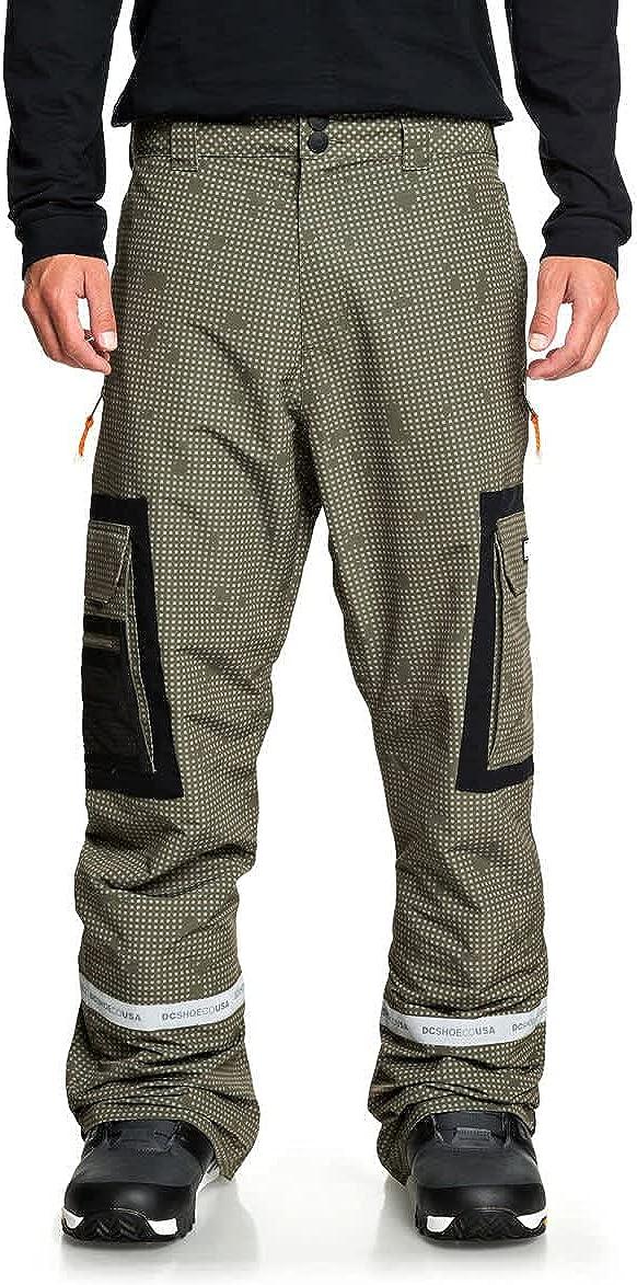 DC Revival Snowboard Pants Mens Max 61% OFF Sz M Ca Olive Desert Night discount