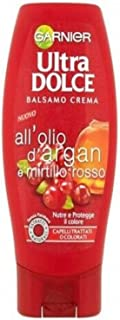 "Garnier:""Ultra Dolce"" (""Super Sweet"") Conditioner with Argan Oil and Cranberry 12.17fl.oz, 360ml"