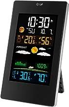 Xu Yuan Jia-Shop Termómetro Higrómetro Estación meteorológica inalámbrica Indoor Al Aire Libre Tiempo meteorológico Sensor Termómetro Digital Hygrómetro Monitor Monitor Fase Digital Termohigrómetro