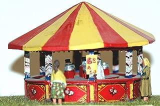 Langley Models Hoop-La round stall OO Scale UNPAINTED Funfair Fairground Kit Q14
