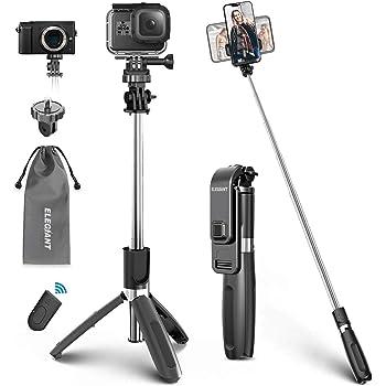 HaoKanDe Tripod Selfie Stick New Factory Direct Mobile Phone XT10 one Bluetooth Selfie Artifact Tripod Selfie Stick Pink