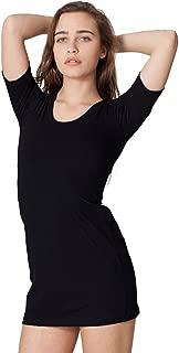 RSA2314 - Fine Jersey Short Sleeve Crew Neck Dress