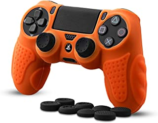CHINFAI PS4 Controller DualShock4 Skin Grip Anti-Slip Silicone Cover Protector Case for Sony PS4/PS4 Slim/PS4 Pro Controll...