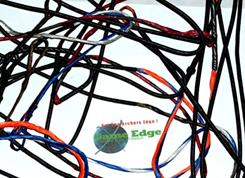 PSE Gas Bowstrings PSESTNG3G Premium Red/Black Stinger 3G Bow String + Cable Set