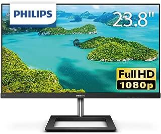 PHILIPS モニターディスプレイ 241E1D/11 (23.8インチ/IPS Technology/FHD/HDMI/D-Sub/DVI-D/フレームレス/5年保証)