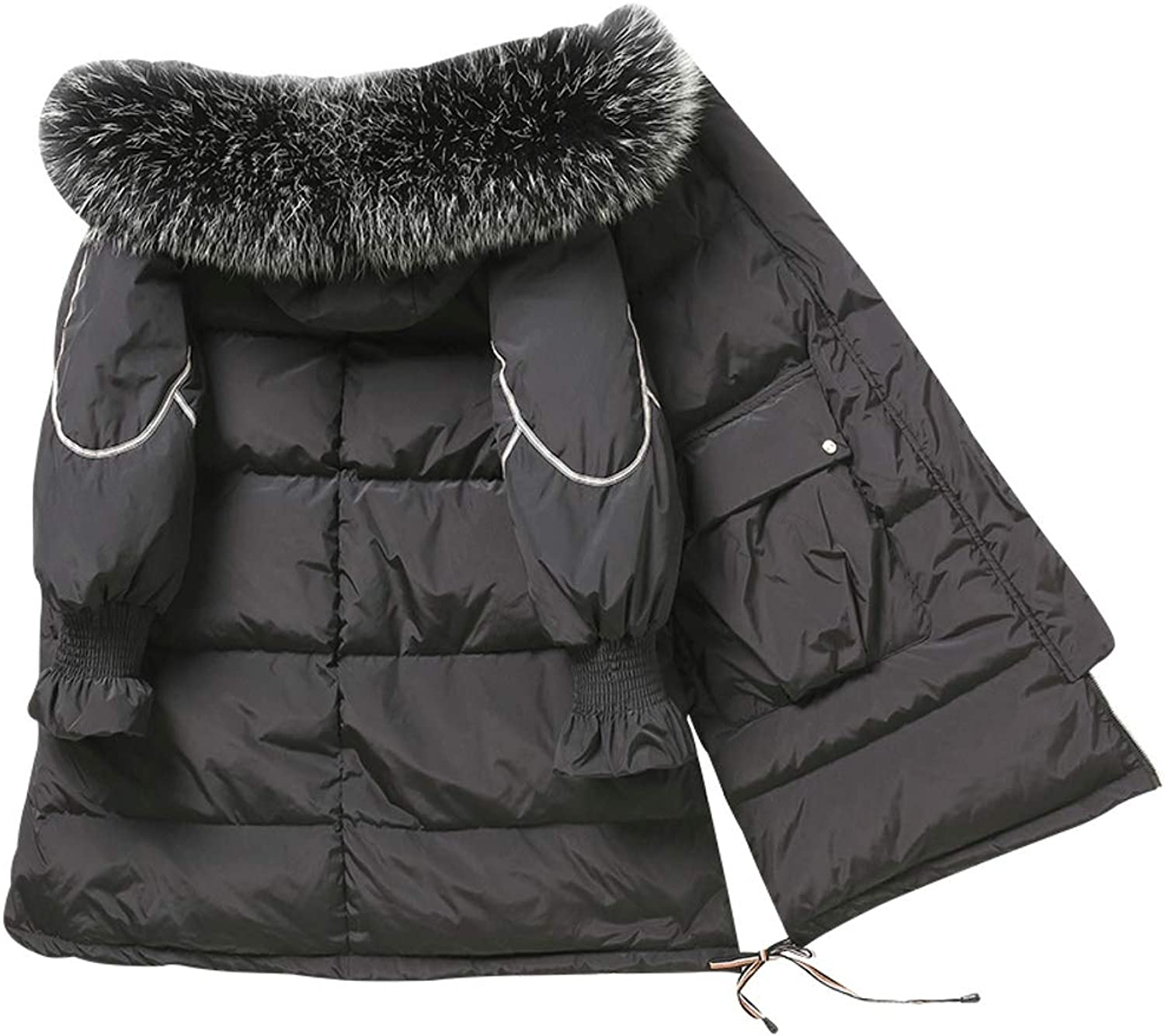 Winter Hooded Thick Ladies Down Jacket Women Coat