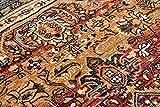 Teppich Wolle KESHAN Ornament orientalisch 7518/53528 beige/dunkelblau 250x350 cm beige - 7