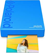 Polaroid Mint Wireless Mobile Photo Mini Printer (Blue) Compatible W/iOS & Android, Bluetooth Devices