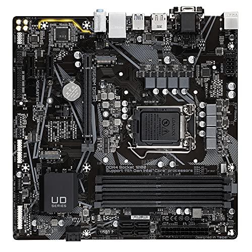 Gigabyte B560M DS3H Micro ATX Motherboard für Intel LGA 1200 CPUs