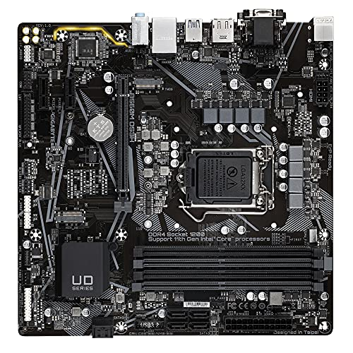 Gigabyte Technology Placa Base Micro ATX B560M DS3H para CPU Intel LGA 1200
