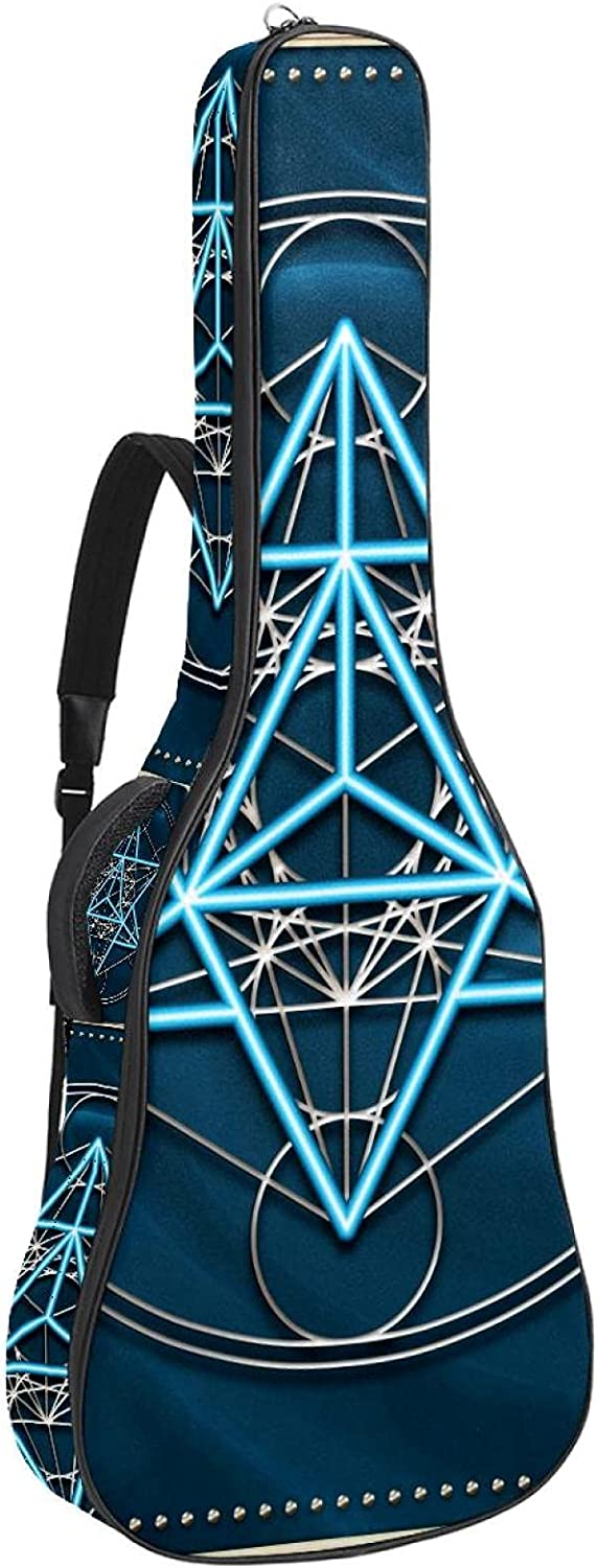 Acoustic Indefinitely Guitar Bag NEW Thick Padding Sho Waterproof Adjustable Dual