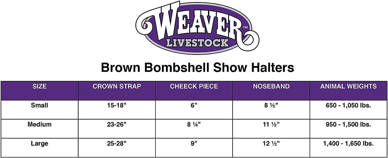 Weaver Leather Bombshell Show Halter