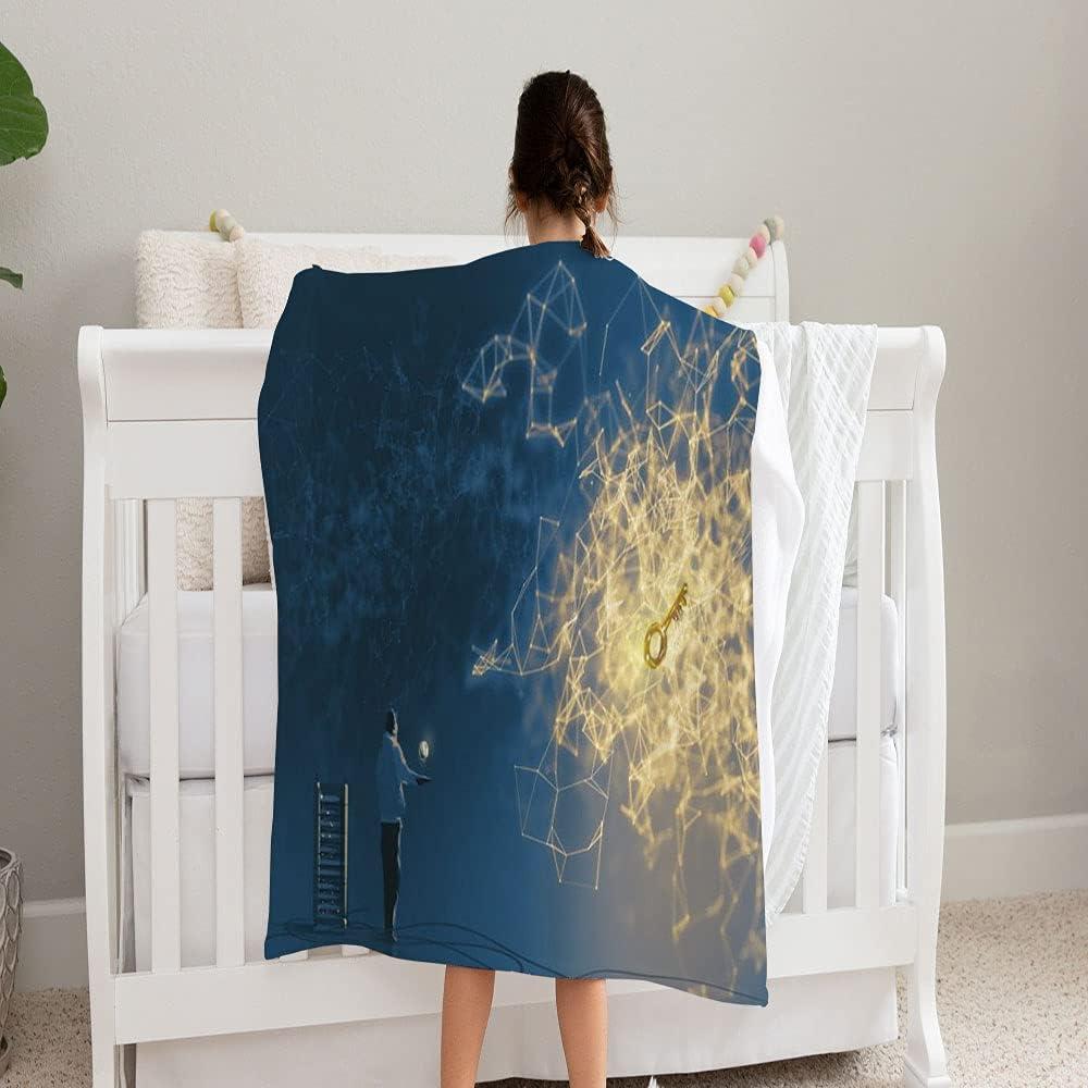 Max 89% OFF LPVLUX Digital Art Painting Style Programmer favorite Soft Blanket Super