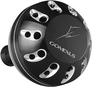 ゴメクサス (Gomexus) 45 47mm パワー リール ハンドル ノブ ダイワ Type L (Daiwa) 用, レオブリッツ S500J ブラスト4500 5000 など用 アルミ