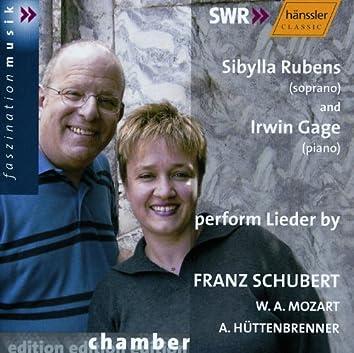 Mozart / Schubert / Huttenbrenner: Lieder
