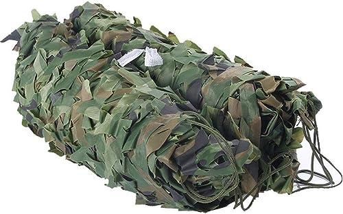 Arro Khan JL ZB Soleil Ombre Filet Camouflage Ombre Vert Jungle Aménagement Extérieur Anti-UV Formation Militaire Secrète Oxford 15 Types Taille A+ (Taille   6 x 6m)