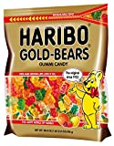 1 - 28.8 oz Resealable Pouch of Haribo Original Gold-Bears Flavors include: Orange, Pineapple, Raspberry, Strawberry, Lemon