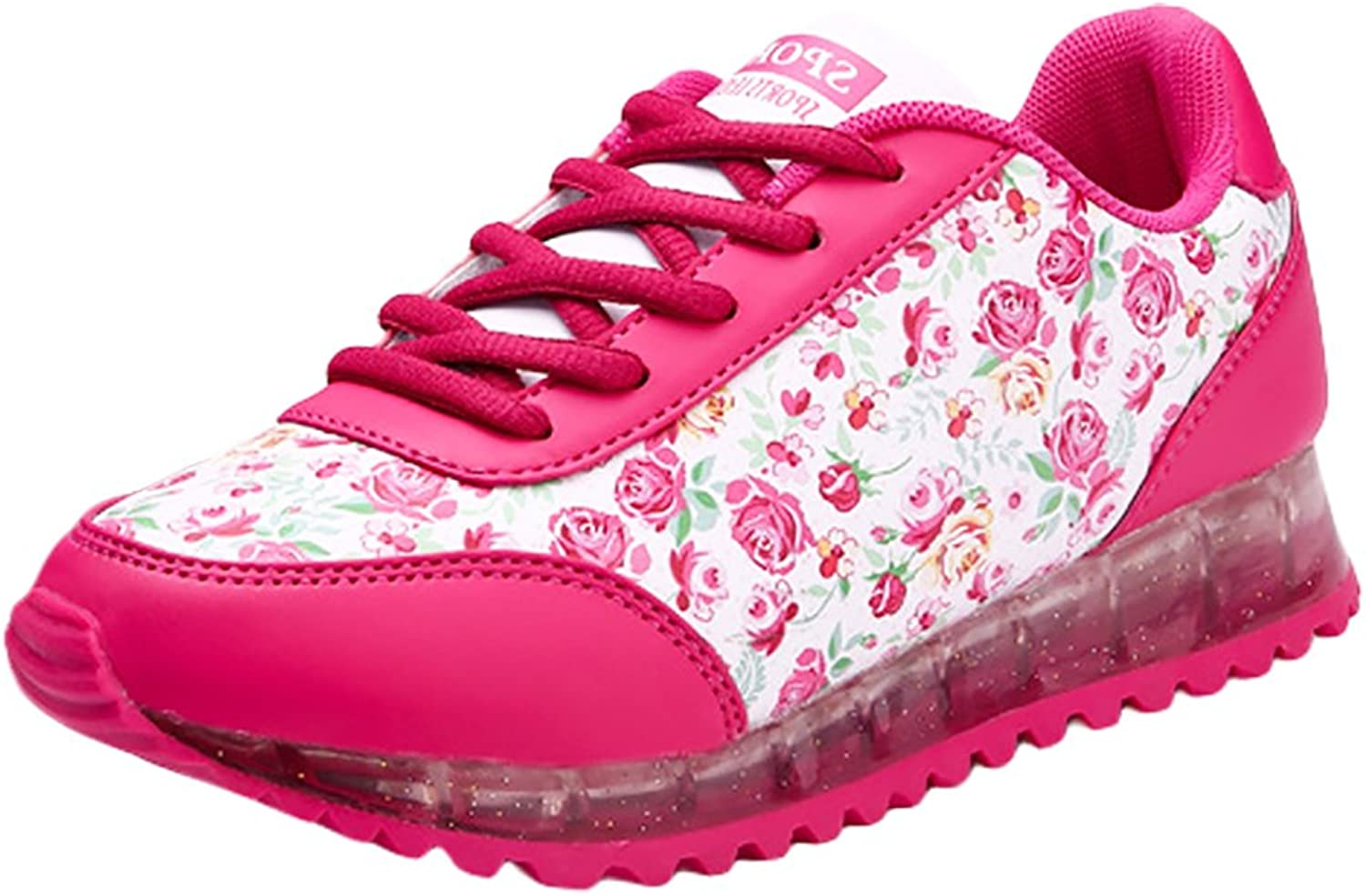 Amurleopard Women pinks Jelly shoes 7 color USB Charge LED Flashing Lights Sneaker Sports shoes