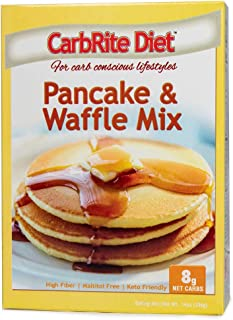 Doctor's CarbRite Diet - Pancake & Waffle Mix - Keto Friendly - Maltitol Free - Perfect for Carb Conscious Dieters, Baking Mix, 14 Ounce
