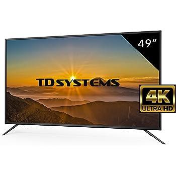 Televisor Led 49 Pulgadas Ultra HD 4K TD Systems K49DLM8U ...