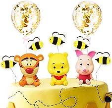 Ceramic Winnie The Pooh Cake Topper Birthday Keepsake 6 New Old Stock In Original Box