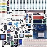 UNIROI Mega 2560 Kit de Démarrage Ultime Le Plus Complet avec Manuel d'Utilisation Français pour Débutants et Professionnels DIY Compatible avec ArduinoIDE