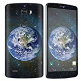 [NakedShield] SkinScratch Guard Vinyl Skin Decal [Full Body Edge] [Matching Wallpaper] - [Earth] Compatible for LG [G3]