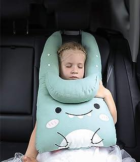 シートベルトカバー シートベルトクッション 子供用 車用パッド 子供から大人まで対応 頚部保護 子供用携帯枕 ドライブ 可愛い ふわふわ もちもち肌触り 柔らかい セキュア 自動車安全