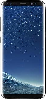 "Samsung Galaxy S8 64GB Phone- 5.8"" display, Verizon Unlocked - Midnight Black (Renewed)"