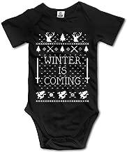 Winter Is Coming Ugly Christmas Girl Baby Onesie Romper