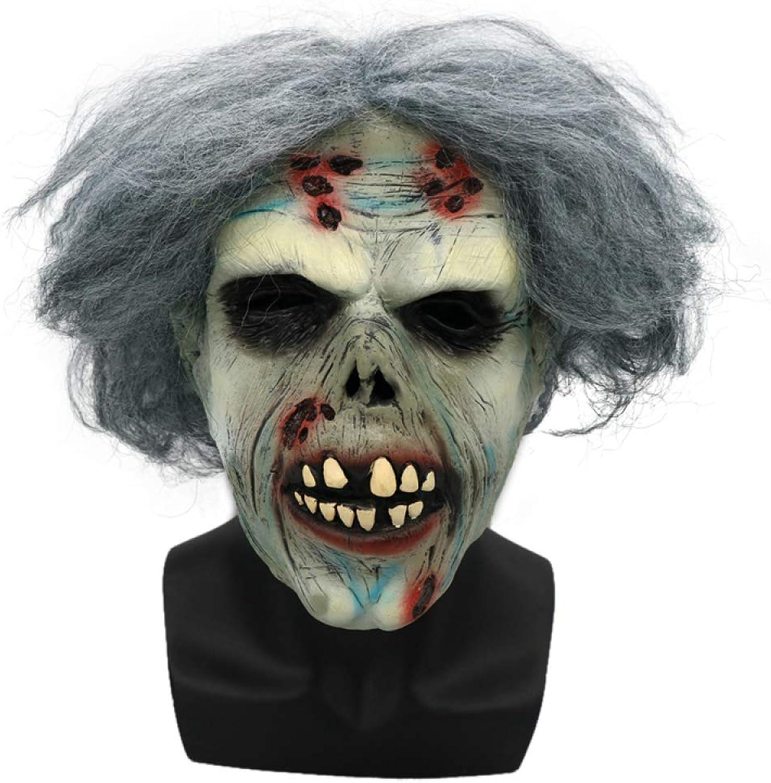 Halloween Erwachsene Maske Horror Biochemische Zombie Trockene Leiche Teufel Latex Kopfbedeckungen Spukhaus Geheimer Raum Scary Requisiten B07GDK34JG Stilvoll und lustig    Verrückter Preis