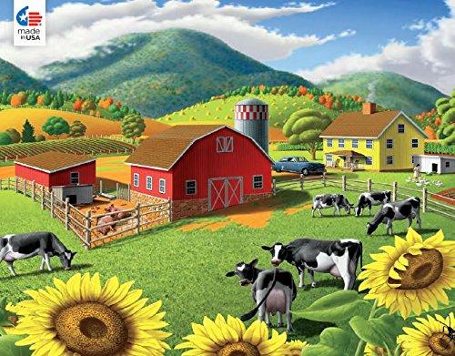 Ceaco 2424-1 Puzzle Walt Curlee - Girasoles 550 Piezas