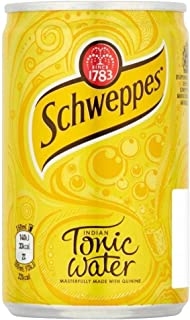 Schweppes Indian Tonic Water (150ml) - Pack of 6