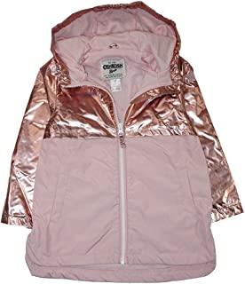 OshKosh B'Gosh Girls' Lightweight Jersey Lined Windbreaker Jacket