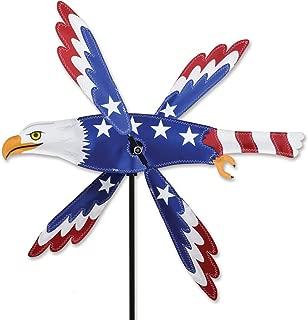 Premier Kites Whirligig Spinner - 18 In. Patriotic Eagle Spinner, MULTI