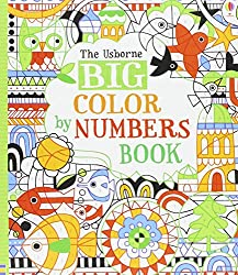 The Usborne BIG Color by Numbers Book