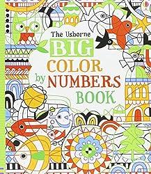 usborne big color by number