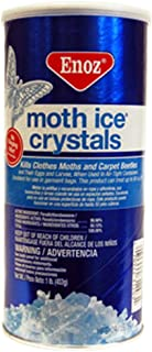 Enoz Moth Crystals 1 Lb Can (PACK OF 12)