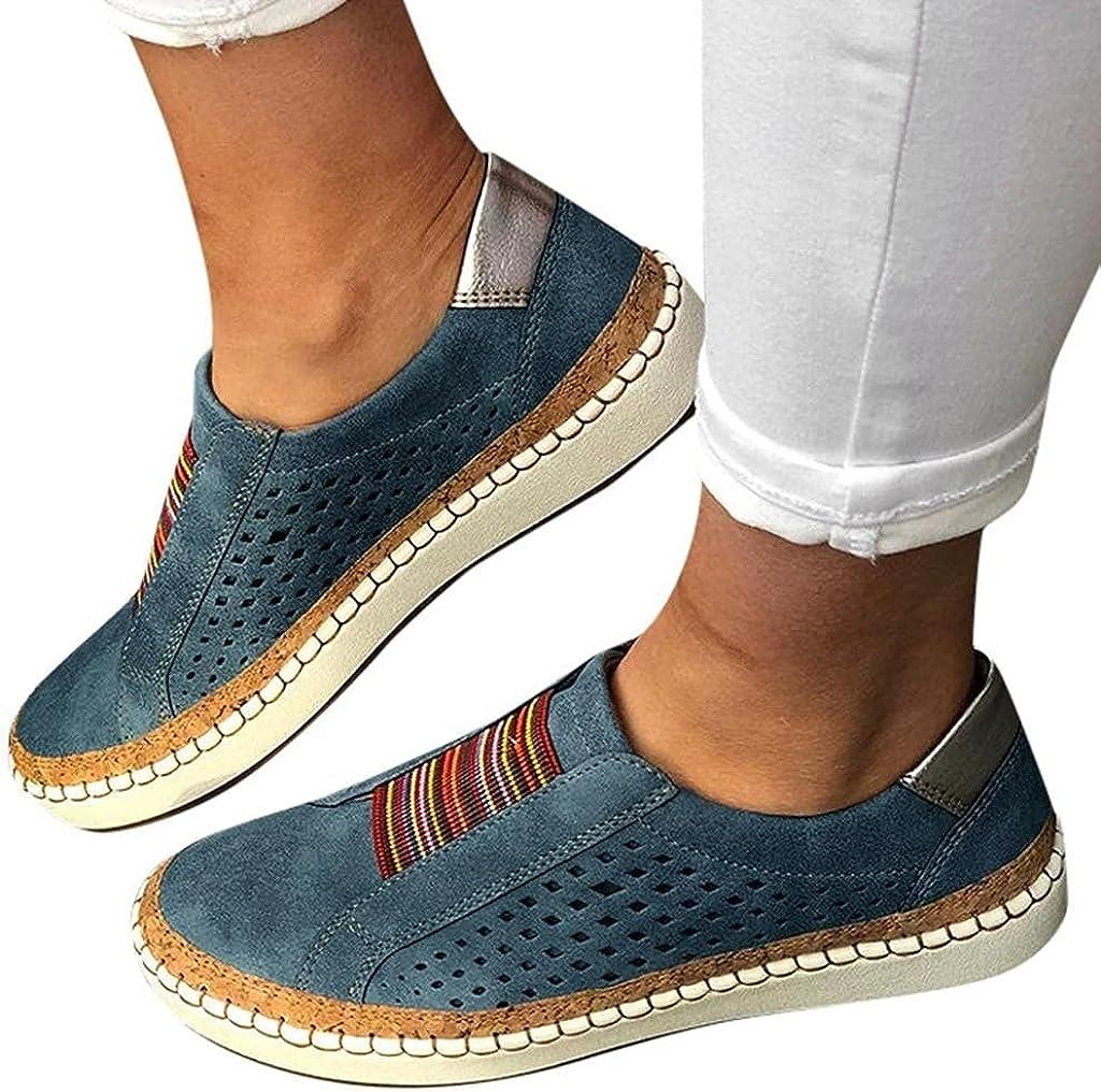 NarZhou Sandals for Women Bowknot Polka Dot Sandals Casual Slip-On Flip Flop Open Toe Summer Flat Slippers Beach Sandals